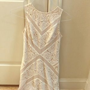 Lace midi dress. Used, but no signs of wear.